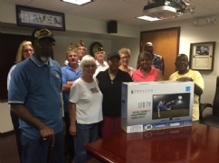 We have been involved in this organization that assists homeless veterans. Donation and support of Christmas Party, Christmas in July and donation of 10 flat screen televisions for individual rooms.